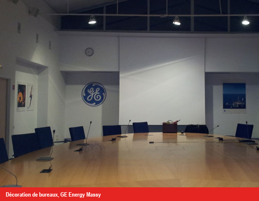 Dcoration De Bureaux GE Energy Massy Printeam