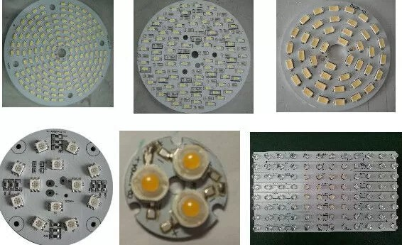 Professional LED Lighting Aluminium PCB Board High Power