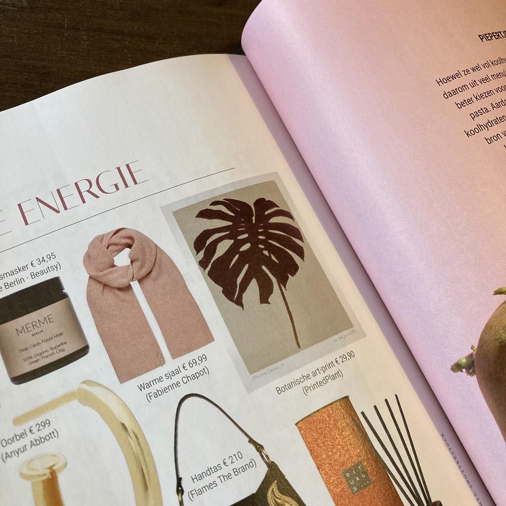 Featured in Dutch 'Wendy' magazine