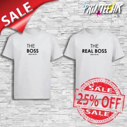 The Boss and The Real Boss Cover Sales