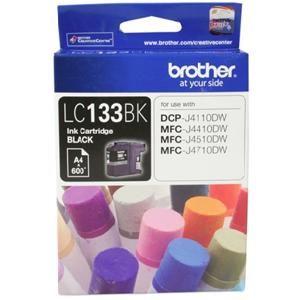 brother lc133 black ink cartridge