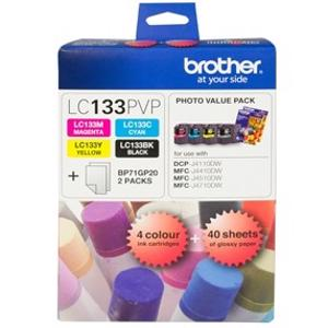 brother lc133 value pack 4 pack