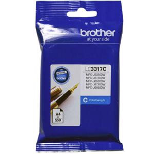 brother lc3317 cyan ink cartridge