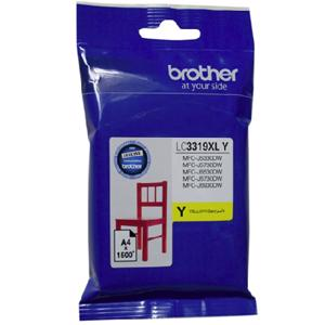brother lc3319xl yellow ink cartridge