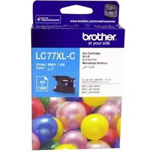 brother lc77xl cyan ink cartridge