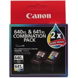 canon 640xl value pack ink cartridge