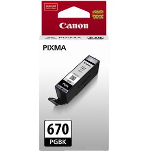 canon 670 black ink cartridge
