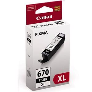 canon 670xl black ink cartridge