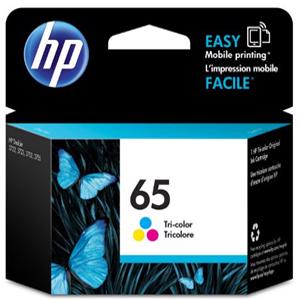 hp 65 colour printer ink
