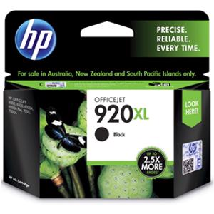 hp 920xl black printer ink