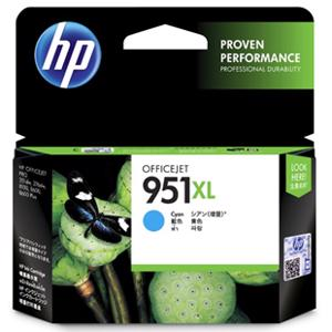 hp 951xl cyan printer ink