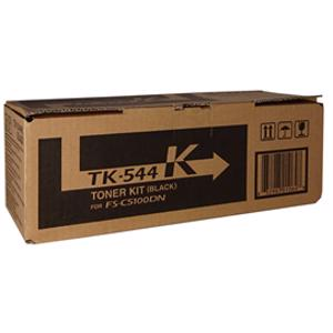 kyocera tk544 black toner cartridge