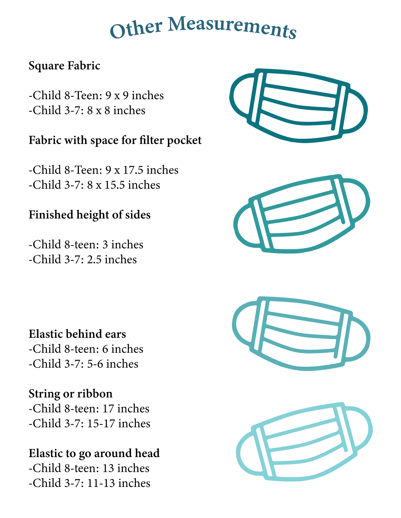 other mask measurements
