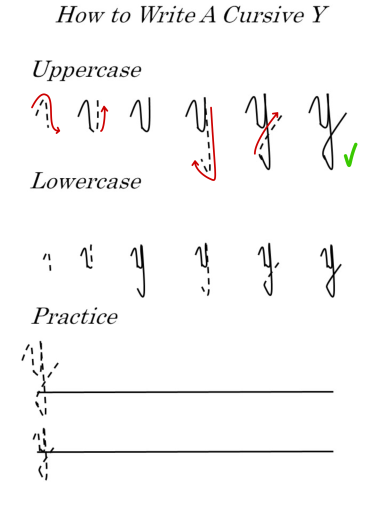 letter 'Y' worksheets for uppercase and lowercase