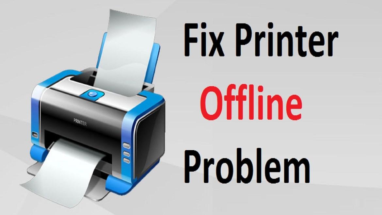 hp printer offline fix