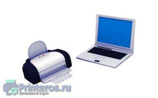 Как подключить принтер к ноутбуку. Пошаговая инструкция