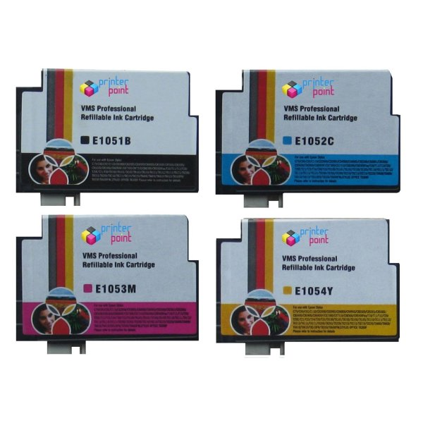 Max Refillable 73N Ink Cartridge Set For Epson Printer (With Ink)