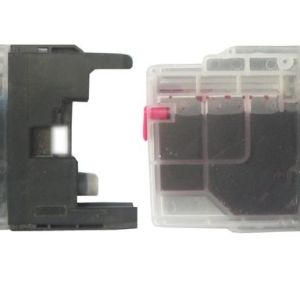 Max Mini Refillable Ink Cartridge Set LC400 Prefilled With 90ML Ink For Brother Printer