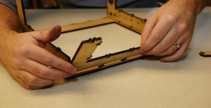 Сборка корпуса 3D принтера