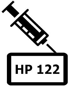 Как заправить картридж hp 122