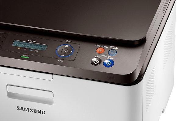 Панель управления Samsung CLX-3305