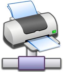 Сетевой принтер - схема