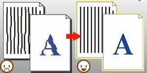 Выравнивание печатающей головки