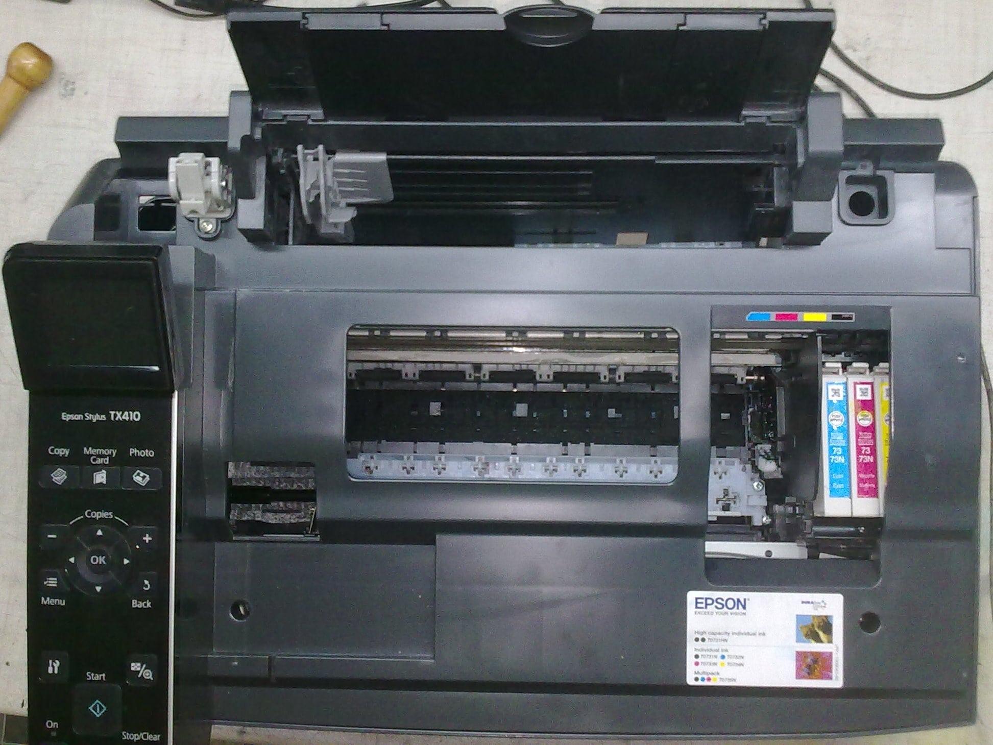 Epson tx419 скачать программу