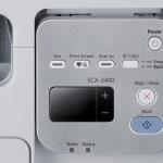 Панель управления Samsung SCX-3400