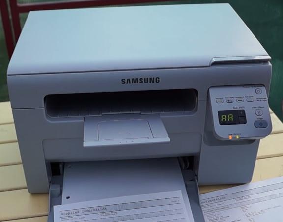 Печать отчетов из технического меню