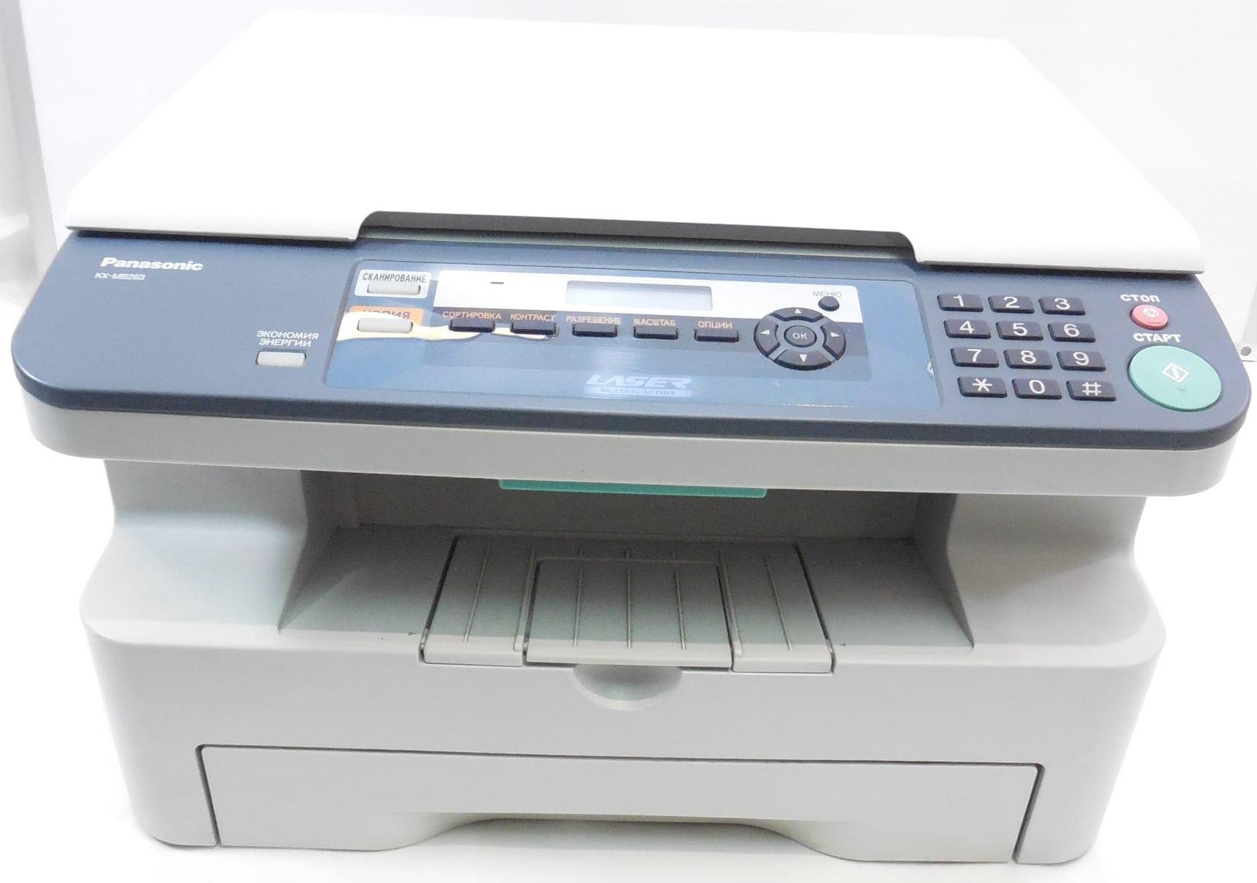 Скачать драйвера для принтера panasonic kx-mb263.