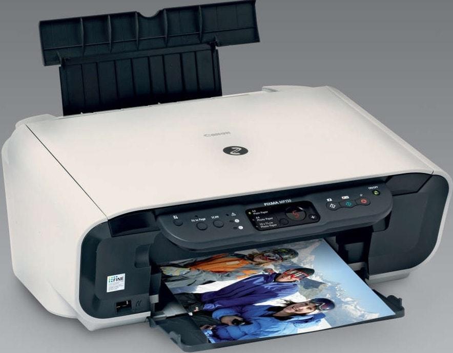 скачать драйвер для принтера Canon Pixma Mp150 для Windows 7 img-1