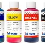 Комплект водорастворимых чернил Ink-mate