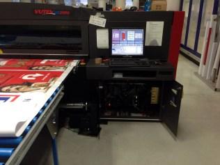 Impresora EFI Vutek QS 2000 Super Gran Formato