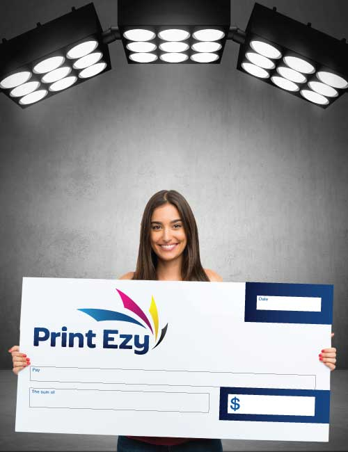 Sunshine Coast Novelty Cheque Printing