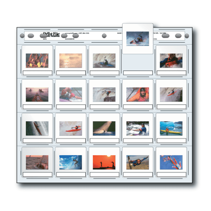 2x2-20H Slide pages multi-hole