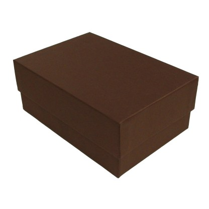 Brown 4x6 proof box, shown closed