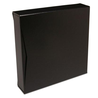 "Black 1.5"" binder inside of slipcase"