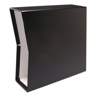 "Black oversized 2.5"" slipcase"