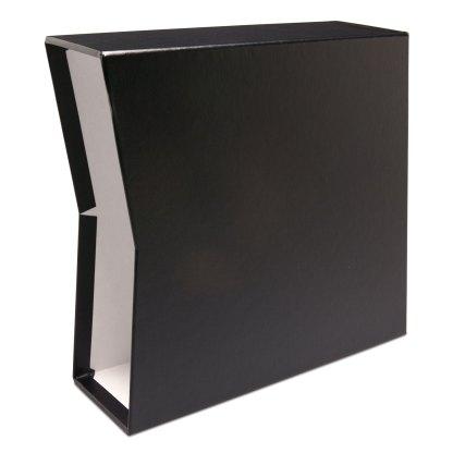 "Black oversized 2.5"" slipcase"
