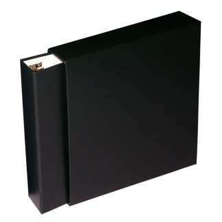Black Oversized binder inside slipcase