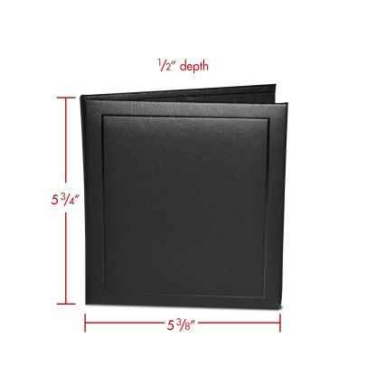 CD single folio with dimensions