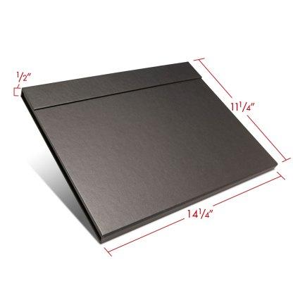 Folio folder 11x14 closed with dimensions