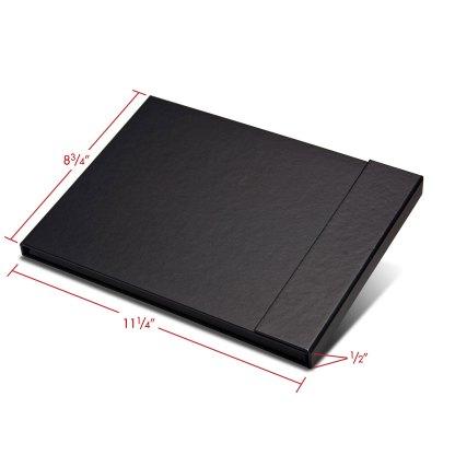 Folio folder 11x8.5 closed with dimensions