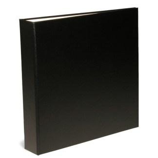 "Oversize black 1.5"" binder"