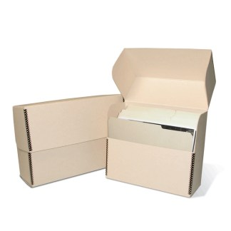 Letter size storage box