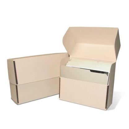 Letter size storage box