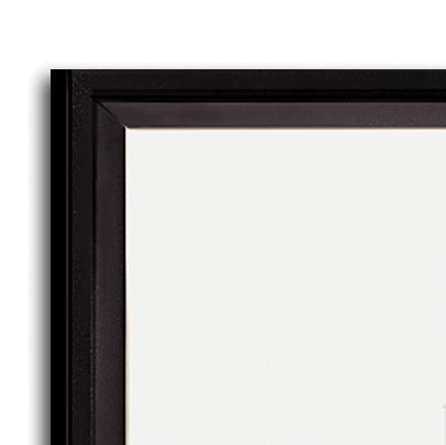 Gallery frame kits, corner detail