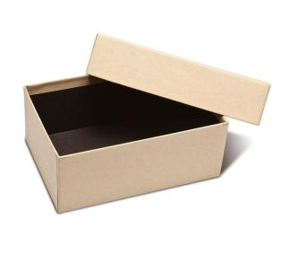 4x6x2.5 Kraft Proof Box