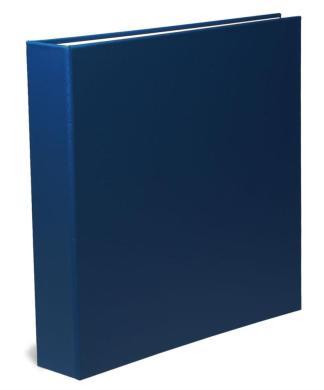 """blue oversized 1.5"""" oversized binder"""